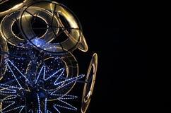 Decoración única de Navidad del od del diseño de un árbol Imágenes de archivo libres de regalías