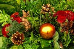 Decoración 19 de la Navidad imagenes de archivo
