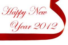Decoración 2012 de la Navidad del Año Nuevo Imágenes de archivo libres de regalías