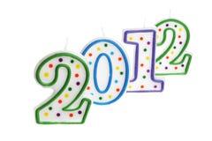 Decoración 2012 del Año Nuevo Imagen de archivo libre de regalías