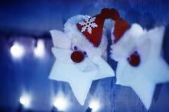 Decoración abstracta de la Navidad Imagen de archivo libre de regalías