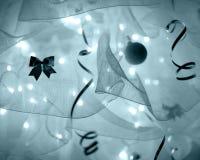 Decoración abstracta del Año Nuevo Foto de archivo libre de regalías