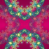 Decoración abstracta del cordón, forma redonda Fotos de archivo libres de regalías
