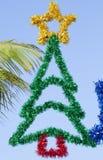 Decoración bahamense de la Navidad Fotografía de archivo