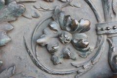 decoración bajo la forma de flor fotos de archivo