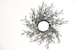 Decoración blanco y negro Imagen de archivo libre de regalías