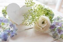 Decoración blanda de la tabla para una boda Imagenes de archivo