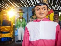 Decoración brasileña del carnaval Foto de archivo