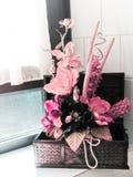 Decoración casera floral imágenes de archivo libres de regalías