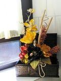 Decoración casera floral foto de archivo libre de regalías