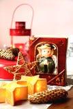 Decoración casera para la Navidad Foto de archivo