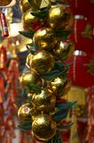 Decoración china 5 del Año Nuevo Fotografía de archivo
