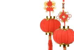 Decoración china del Año Nuevo Foto de archivo