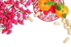 Decoración china del Año Nuevo Imagenes de archivo