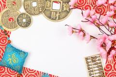 Decoración china del Año Nuevo Fotografía de archivo
