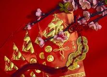 Decoración china del festival del Año Nuevo Fotos de archivo
