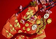 Decoración china del festival del Año Nuevo Fotografía de archivo