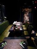 Decoración china en Dragon Lady Restaurant Imagenes de archivo