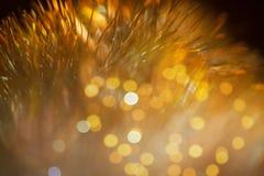Decoración chispeante del Año Nuevo del bokeh Imagen de archivo