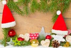 Decoración colorida de la Navidad Imagen de archivo