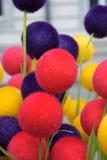 Decoración colorida de pascua fotografía de archivo