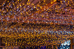 Decoración colorida del diseño de la iluminación Fotografía de archivo libre de regalías