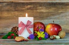 Decoración colorida del otoño Imagen de archivo