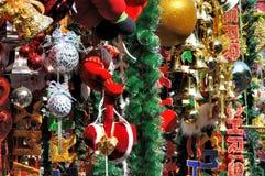 Decoración colorida para la Navidad Imagenes de archivo
