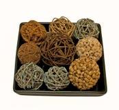 decoración con las bolas Fotografía de archivo libre de regalías