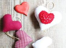Decoración - corazones Imagen de archivo