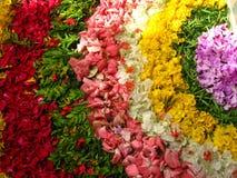 Decoración creativa de la flor Fotografía de archivo