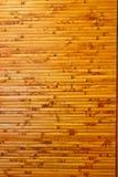Decoración de bambú de la pared Fotos de archivo libres de regalías