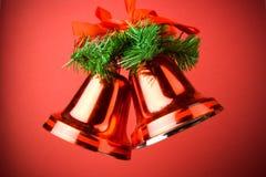 Decoración de Belces de la Navidad Fotos de archivo