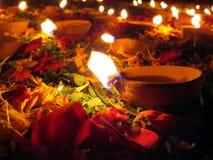 Decoración de Diwali Fotografía de archivo libre de regalías