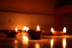 Decoración de Diwali y de la Navidad imagenes de archivo