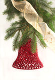 Decoración de la alarma de la Navidad Imágenes de archivo libres de regalías