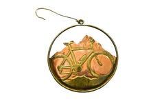 Decoración de la bicicleta Foto de archivo libre de regalías