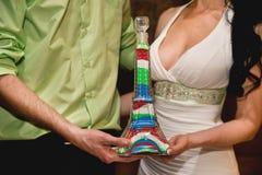 Decoración de la boda imagenes de archivo