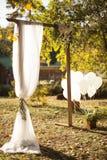 Decoración de la boda Fotografía de archivo libre de regalías