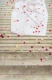 Decoración de la boda Imágenes de archivo libres de regalías