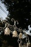 Decoración de la boda en ceremonia de boda musulmán Foto de archivo