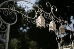 Decoración de la boda en ceremonia de boda musulmán Fotos de archivo libres de regalías