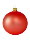 Decoración de la bola de la Navidad Foto de archivo libre de regalías