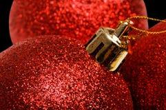 Decoración de la bola de la Navidad y del Año Nuevo Imagen de archivo libre de regalías