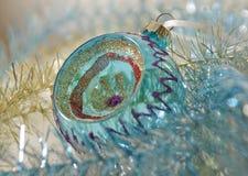 Decoración de la bola del Año Nuevo de la Navidad Fotos de archivo