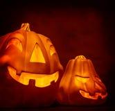 Decoración de la calabaza de Halloween Imagen de archivo libre de regalías