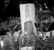 Decoración de la cena Fotografía de archivo