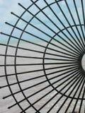 Decoración de la cerca del hierro Imagen de archivo