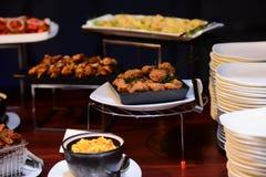 Decoración de la comida para todas las funciones Foto de archivo libre de regalías