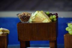 Decoración de la comida para todas las funciones Imagen de archivo libre de regalías